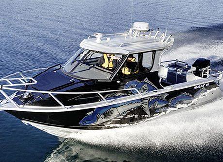 McLay 690 Cruiser Hardtop Wins Aluminium Fishing Boat 6-7m category