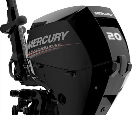 The all-new Mercury 15/20hp EFI Four-Stroke outboard